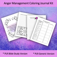 Anger Management Bible Study Journal Kit