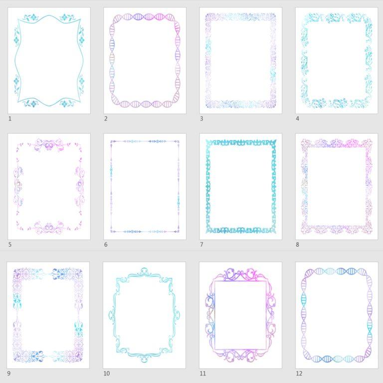 watercolor journal templates