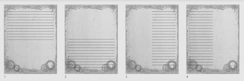 vintage journal papers