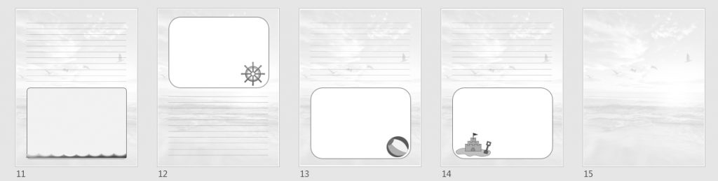 extra templates 2 grayscale