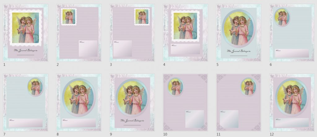 Angels & Snowflakes Paper Pack 3