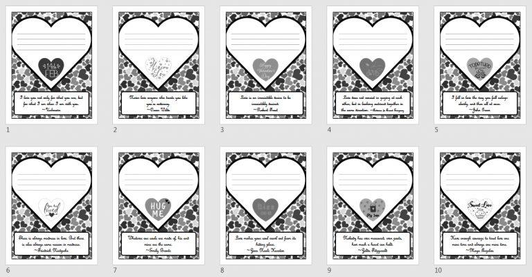 valentine notes quotes