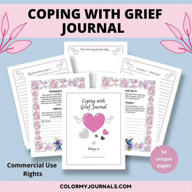 coping with grief journal