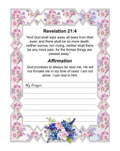grief prayer page