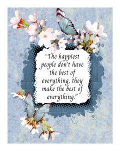 happiness journal mockup