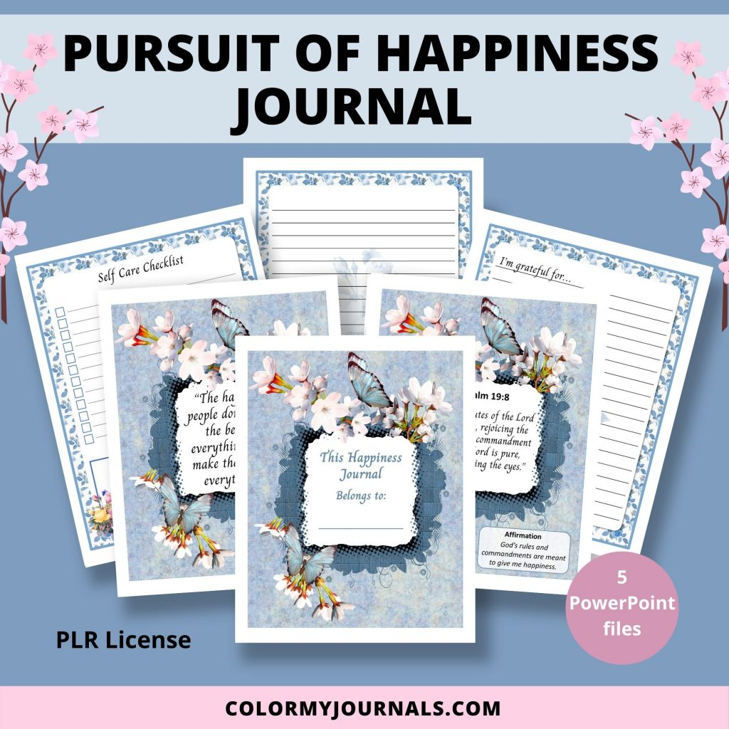 Pursuit of Happiness Journal
